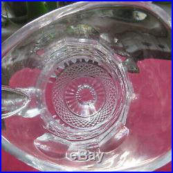 Broc à eau pichet en cristal de saint louis modèle tommy