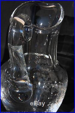 broc eau sur pi douche en cristal de saint louis mod le cl o verres cristal st louis. Black Bedroom Furniture Sets. Home Design Ideas