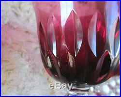 Bubbles taille spéciale. 6 Roemer, verre à vin du Rhin cristal Saint Louis