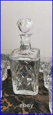 Carafe À Whisky Et 6 Verres Cristal SAINT LOUIS