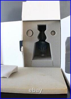 Carafe à liqueur en cristal de saint louis bleue turquoise