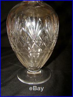 Carafe à vin en cristal taillé de Saint Louis modèle Massenet