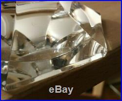 Chambord verres cristal Saint Louis. Un verre à eau N°2 + un verre vin rouge N°3