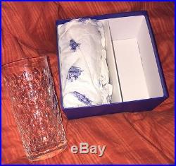 Chope Cléopâtre cristal HERMES/SAINT LOUIS. 2 Verres