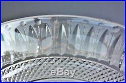 Coupe sur piédouche en cristal taillé de St Louis modèle Tommy