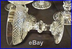 Coupes cristal Saint Louis modèle Trianon