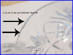 Cristal De Saint Louis Service 21 Pieces 19 Verres Et 2 Carafes