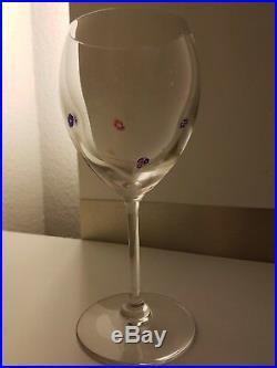 Cristal Saint Louis 6 verres modèle Boticelli rarissime état neuf Exceptionnel