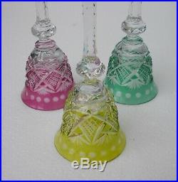 Cristal de Saint Louis 6 verres signés