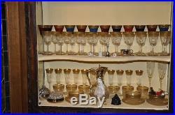 Cristal service de verres Saint Louis (sans les verres colorés)