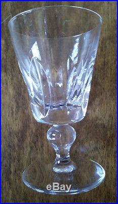 Ensemble de 6 verres Saint-Louis JERSEY Paquebot France