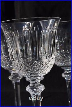 Ensemble de 6 verres à vin en cristal de Saint Louis modèle Tommy 14 cm