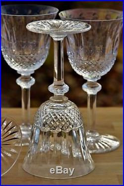 Ensemble de 6 verres à vin n°3 en cristal de St Louis modèle Tommy