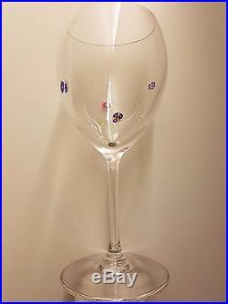 Exceptionnel Cristal Saint Louis verres modèle Boticelli rarissime état neuf x 6