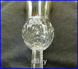 Flute A Champagne Signee En Cristal De Saint Louis Modele Thistle Gold