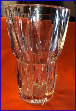Grand Vase Cristal St Louis Signe