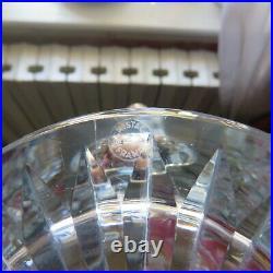 Grand broc a orangeade en cristal de saint louis modèle trianon signé