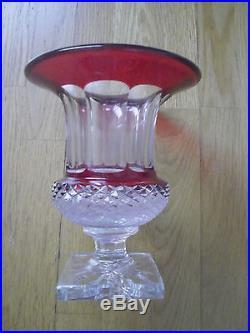 Grand vase cristal de St Louis modèle Versailles