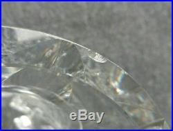 Grand vase taillé en cristal de saint Louis années 50-60