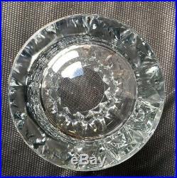 Important Vase En Cristal Taille Saint Louis Modèle Camaret Hauteur 30 CM