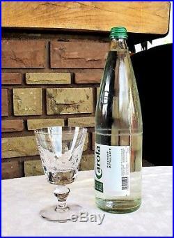 Jersey 6 verres à eau. Saint louis cristal. N°2