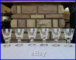 Jersey verres à vin rouge, Saint louis cristal N°3
