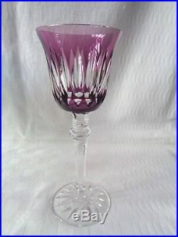 Lorraine Verre A Vin Roemer Roemers Cristal Doublé De Couleur Coloré Saint Louis