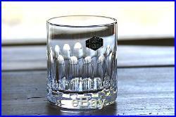 Neufs Cristal taillé Saint Louis Avignon 6 verres à Whisky Whiskey tumblers
