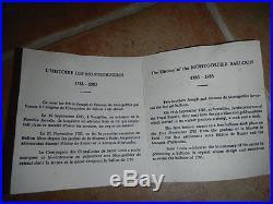Presse-papiers / Sulfure En Cristal St Louis Montgolfiere Edition Limitee