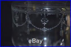 Paire de carafes cristal saint louis anvers