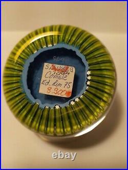 Paperweight saint louis Comète 32/75 Rarissime Non Clichy, No Baccarat