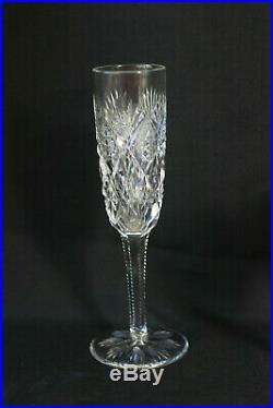 Partie de service de verre à pied en cristal ST LOUIS modèle Florence