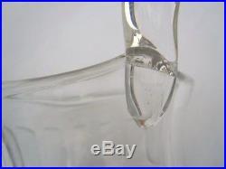 Pichet carafe broc à eau cristal Saint Louis modèle Tommy