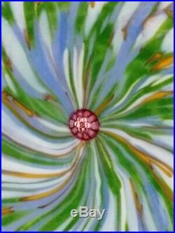 Presse papier Saint Louis sulfure L'Iris Monet 1991