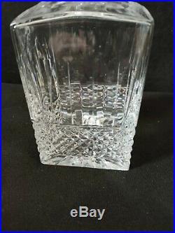 Rare Carafe A Whisky En Cristal De Saint-louis Modele Tommy