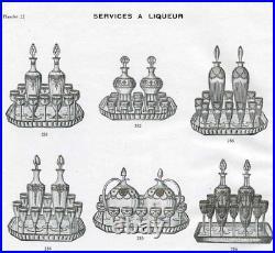 Rare Saint Louis Congress Carafe A Liqueur Cristal
