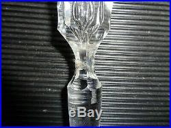 Rare Saint Louis Congress Carafe Cristal
