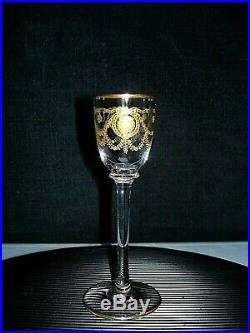 Rare Saint Louis Congress Service A Liqueur 2 Verres A Liqueur Carafe Cristal
