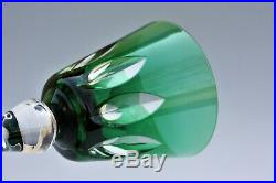 Rare verre à vin du Rhin Roemer en cristal de St Louis Jersey C. G. T. Paquebot