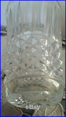 Rarissime Vase En Cristal De Saint-louis Modele Tommy