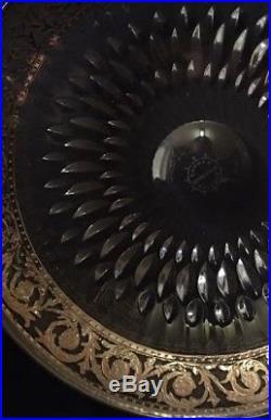 Ravissante Coupe Saint Louis Thistle Platine Très Rare