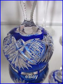 Réassort 3 ancien Verre à vin du Rhin Roemer cristal Saint Louis Baccarat