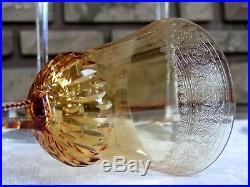 Roemer / Verre à vin du Rhin Thistle Saint Louis. 8 verres
