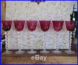 Roemer, verre à vin du Rhin cristal Saint Louis, Bubbles taille spéciale