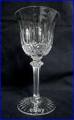 SAINT LOUIS 6 verres à vin rouge CRISTAL taillé modèle TOMMY SIGNES 15,1cm