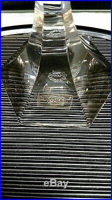 SAINT LOUIS CHAMBORD 6 FLUTES A CHAMPAGNE CRISTAL JAMAIS UTILISE 22,5 cm