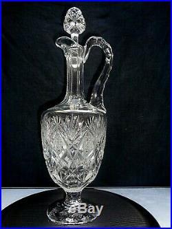 SAINT LOUIS FLORENCE AIGUIERE CARAFE A VIN CRISTAL 38,5 cm