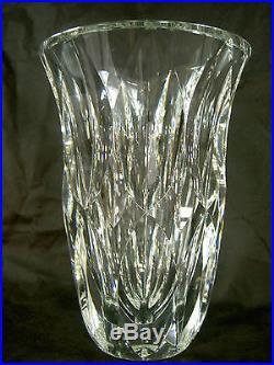 saint louis grand vase cristal taille art deco st louis parfait etat era lalique verres. Black Bedroom Furniture Sets. Home Design Ideas