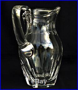SAINT-LOUIS Modèle Bristol Broc à Eau Pichet en Cristal Signé