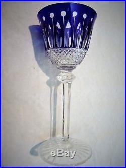 SAINT-LOUIS Roemer TOMMY 6 Verres Cristal doublé couleurs